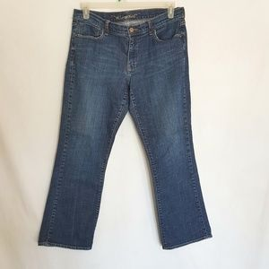 Old Navy Jeans Size 12 Boot Cut Stretch Classic